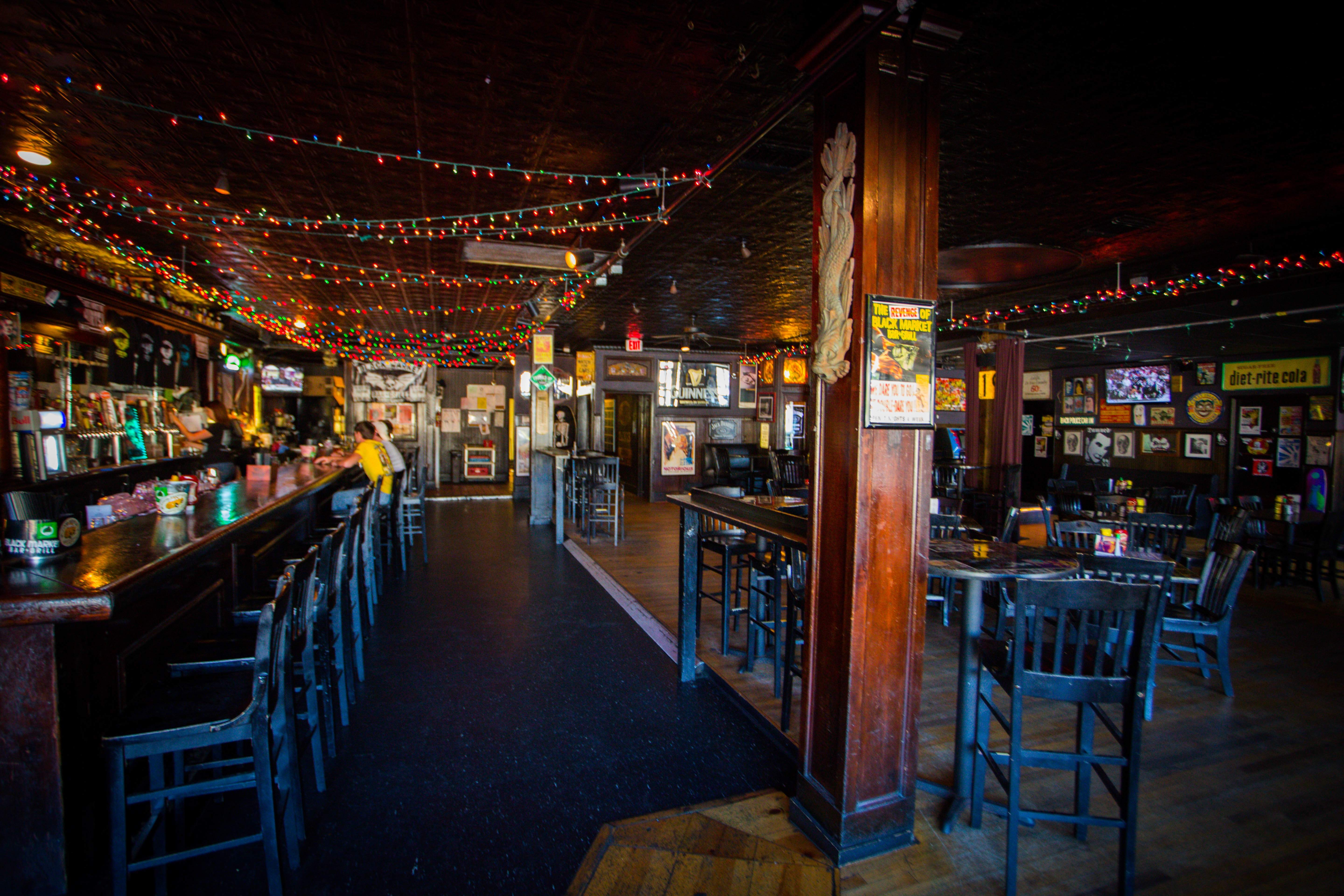 Bham nights beer burgers and bingo h2 real estate for Bar dive